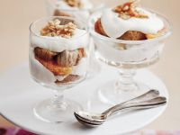 Biscotti and Orange Individual Tiramisu with Almond Brittle recipe