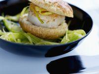 Bite-sized Seafood Sandwiches recipe