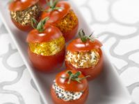 Bite-sized Tomatoes with Fillings recipe