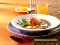 Black Bean Stew with Shrimp recipe