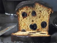 Black Cherry Cake with Chocolate Glaze recipe