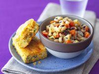 Black-eyed Pea Salad with Cornbread recipe