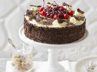 Chocolate and Cherry Cake recipe