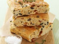 Black Olive and Tomato Italian Bread recipe