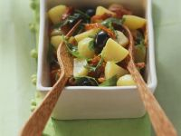 Black Olive Potato Salad recipe