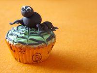 Black Spider and Web Cakes recipe