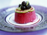 Blackberry and Lime Mousse recipe
