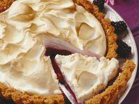 Blackberry Meringue Pie recipe