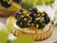 Blackberry Orange Tartlets recipe