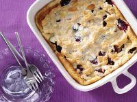 Blackberry Semolina Pudding recipe