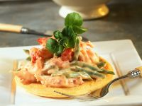 Blini with Crayfish Salad recipe