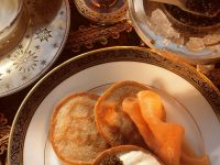 Blinis with Smoked Salmon recipe