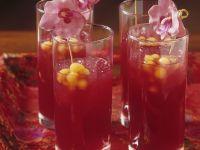 Bloodorange Fruit Cocktail recipe
