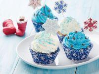 Blue Winter Cupcakes recipe