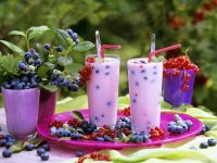 Mixed Berry Smoothies recipe
