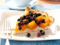 Blueberry Apricot Tart recipe