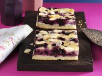 Blueberry Cheesecake Almond Bars recipe