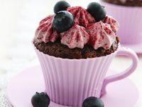 Blueberry Microwave Mug Cakes recipe