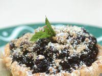 Blueberry Streusel Tartlets recipe