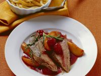 Boar with Berry Sauce recipe