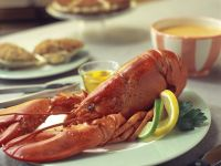Boiled Lobster with Melted Butter recipe