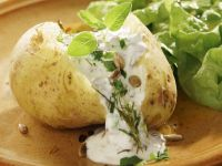 Boiled Potatoes with Herbed Quark recipe