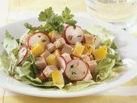 Bologna and Vegetable Salad recipe