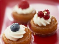 Boozy Glazed Cakes recipe