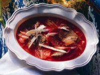 Borscht with Beef recipe
