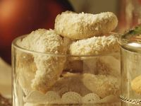 Bourbon Vanilla Crescent Cookies recipe