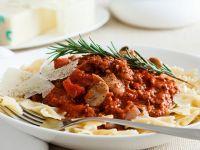 Bow-tie Pasta with Lamb Ragu recipe