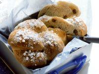 Braided Bread with Raisins recipe