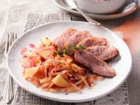 Braised Apple Duck Breast recipe