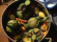 Braised Artichokes recipe
