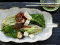 Braised Baby Bok Choy recipe