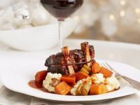 Braised Beef Short Ribs with Mashed Potatoes recipe