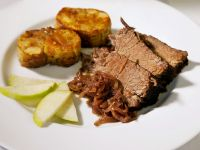 Braised Brisket and Red Cabbage recipe