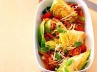Braised Cabbage with Tomatoes recipe