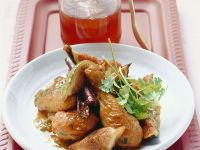 Braised Chicken with Honey and Figs recipe