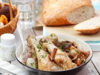 Braised Chicken with Veg recipe