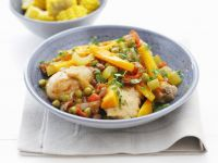 Braised Chicken with Vegetables recipe