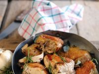 Braised Guinea Fowl with Herbs recipe