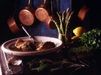Braised Lamb with Garlic and Herbs recipe
