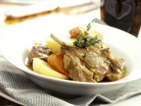 Braised Lamb with Vegetables recipe