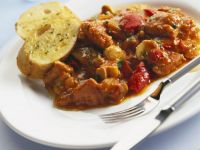 Braised Pork and Red Peppers recipe