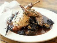 Braised Rabbit with Morel Mushrooms recipe