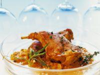 Braised Rabbit with Mustard Sauce recipe