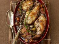 Braised Rabbit with Red Wine recipe