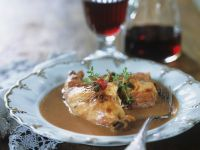 Braised Rabbit with Rosehips recipe