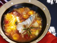 Braised Seafood with Root Veg recipe